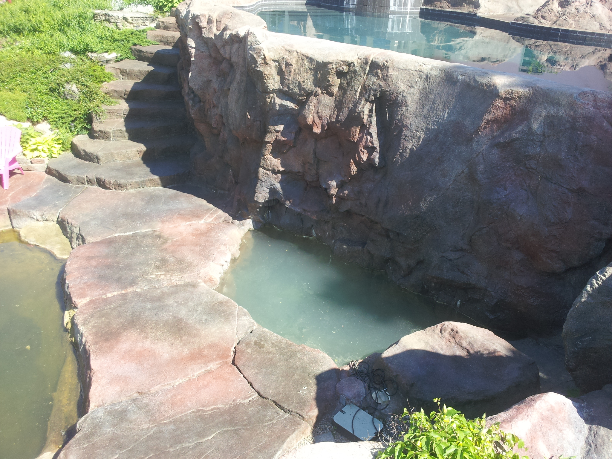 Custom Fake Rock Residential Projects Rockscapes